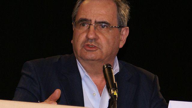 Pierre Rosanvallon, , historien, professeur au Collège de France, intervenant lors de la session des Semaines sociales de France à Villepinte, le 20 novembre 2009. [CC-BY-SA]