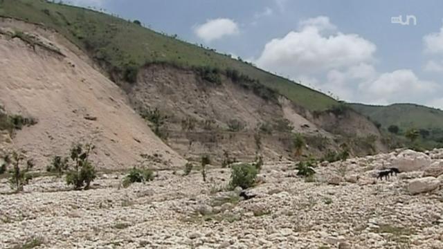 Haïti : Le désert vient avec la pluie [RTS]