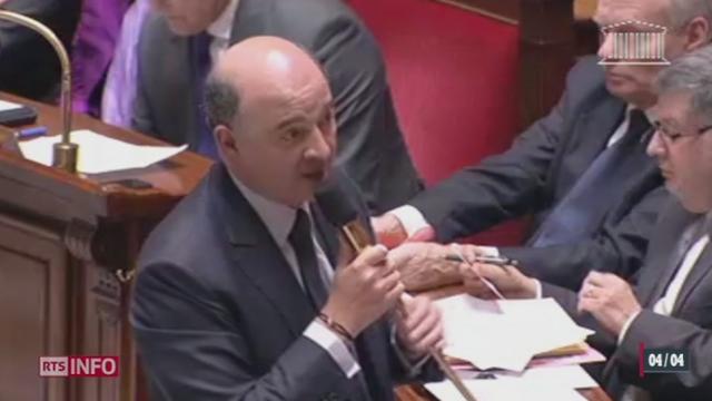 Affaire Cahuzac: le rôle de Pierre Moscovici pour obtenir la vérité est remis en question [RTS]