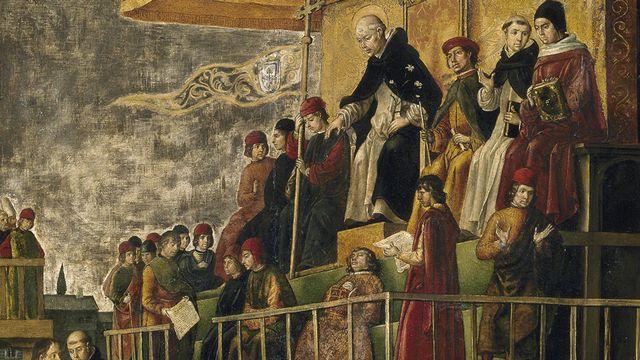 Inquisition [Pedro Berruguete - Prado Museum]