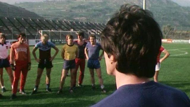 L'entraîneur face à son équipe [RTS]