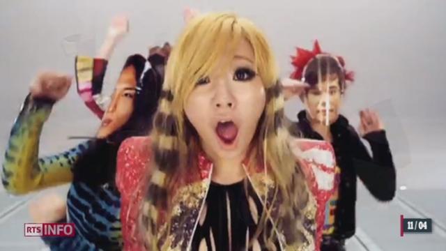 La pop sud-coréenne surfe sur la vague du succès planétaire du «Gangnam style» [RTS]