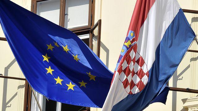 La Croatie entre dans l'Union européenne le premier juillet. [Hrvoje Polan - AFP]