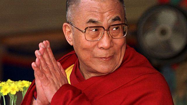 Le 10 mars 2011, à Dharamshala, le Dalaï-Lama a annoncé son retrait de la vie politique. [Ravi Raveendran - AFP]