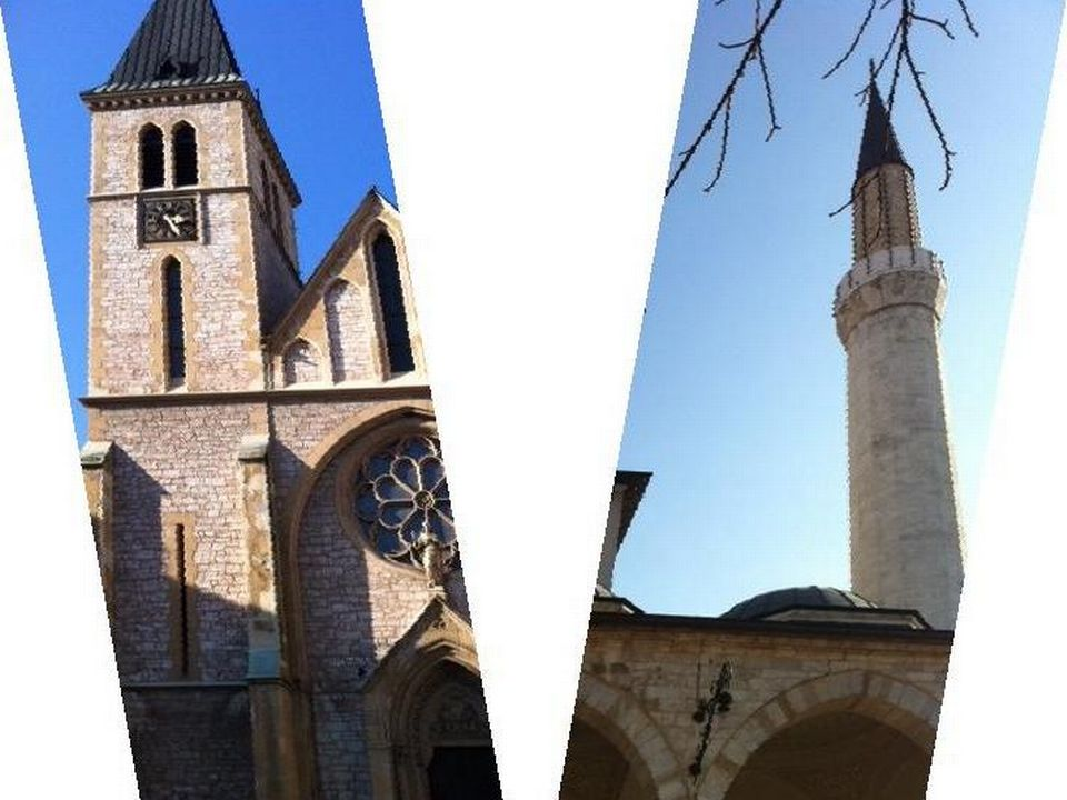 Sarajevo, je t'aime, moi non plus. [Marc Decrey. - RTS]