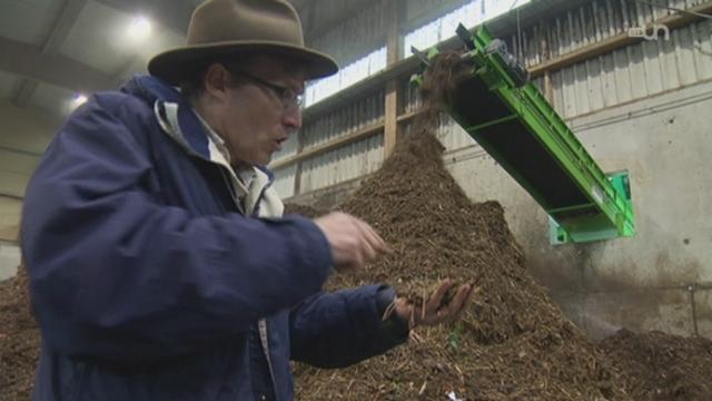 Du compost au biogaz [RTS]