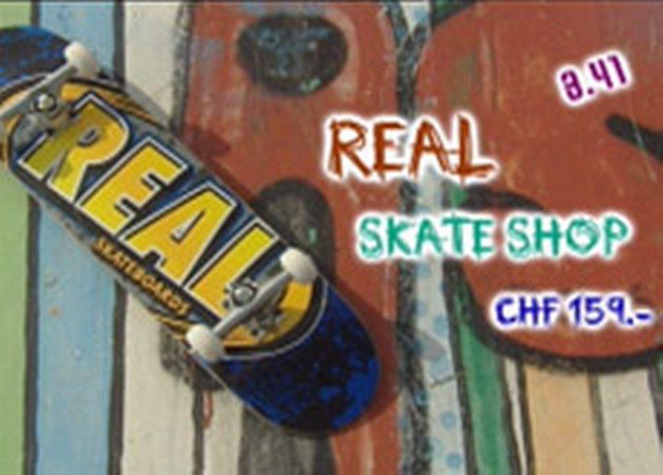 Real -Skate shop