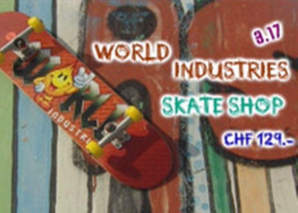 World industries-Skate shop