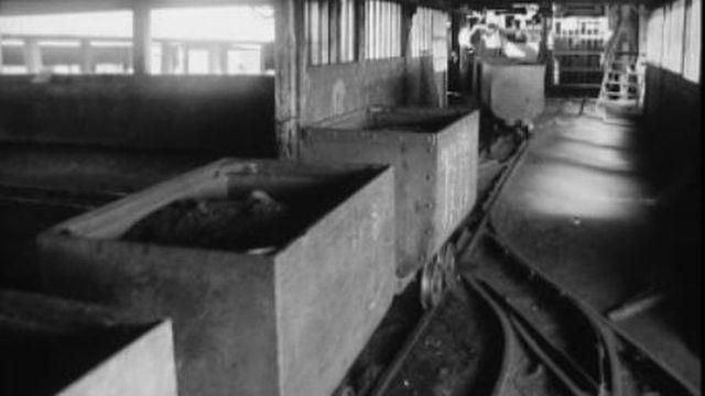 Approvisionnement en charbon en 1965. [RTS]