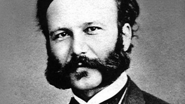 Henry Dunant Portrait vers 1860 [Domaine public]