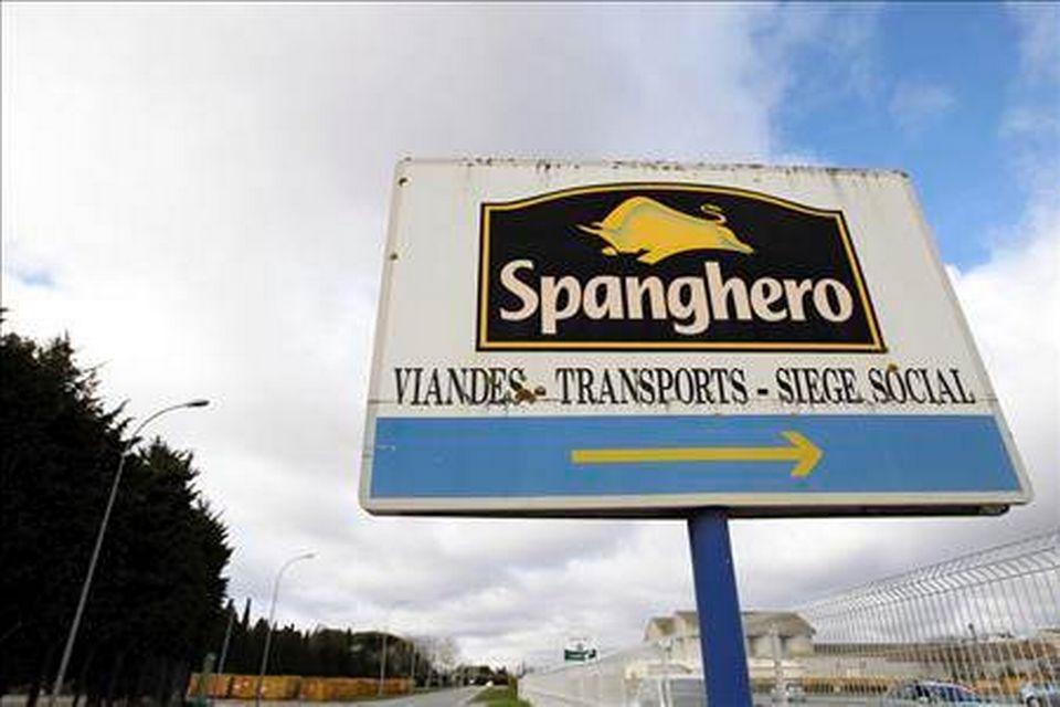 Le siège de Spanghero, à Castelnaudary, dans le sud de la France. [AP Photo/Manuel Blondeau]