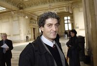Eyal Sivan, cinéaste israélien. [Stéphane de Sakutin - AFP]