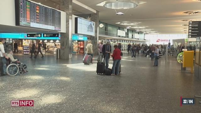 Le développement de l'aéroport de Genève diffère de celui de Zurich [RTS]