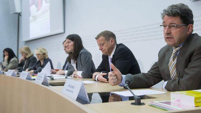 La révision est une chance pour la Suisse, estime le comité. [Marcel Bieri - Keystone]