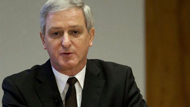 Jörg Reinhardt reprendra la tête de Novartis le 1er août 2013. [Patrick Staub - Keystone]