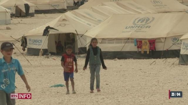 Chaque jour, 3000 réfugiés syriens arrivent en Jordanie [RTS]