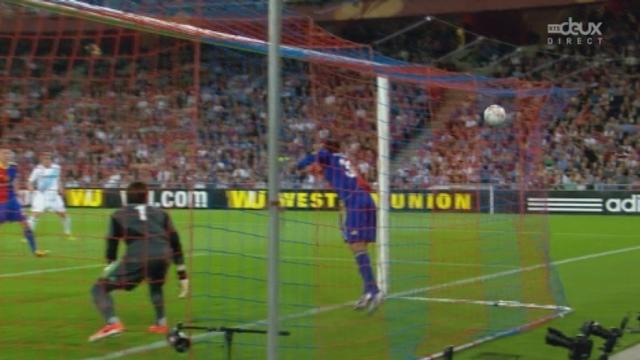 Bâle - Chelsea (0-1). 12e minute: première occasion londonienne, sommer sauve. Mais sur le corner, il s'incline [RTS]
