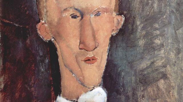 Blaise Cendrars par Amadeo Modigliani. [Wikimedia Commons]