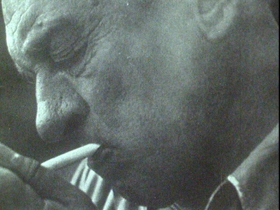 L'écrivain Blaise Cendrars. [RTS]