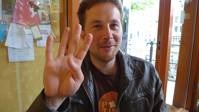 Dan Noyes, web manager au CERN. [CERN]
