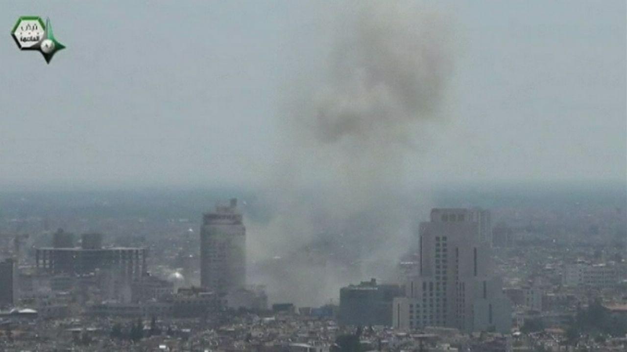 Explosion meurtrière à Damas mardi matin [RTS]