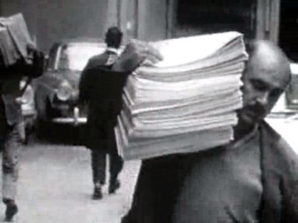 La presse muselée - Point - 11 janvier 1968. [RTS]