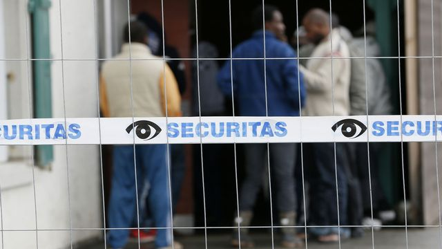 Loi sur l'asile. [Pascal Lauener - Reuters]