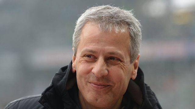 Lucien Favre, entraîneur du Borussia Mönchengladbach. [Patrick Seeger - Keystone]