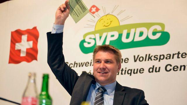 Toni Brunner, président de l'UDC. [Urs Flueeler - Keystone]