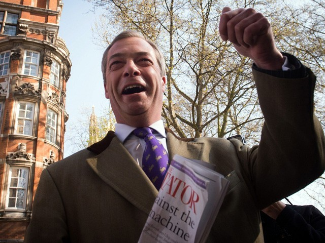 Nigel Farage, leader du parti Ukip.