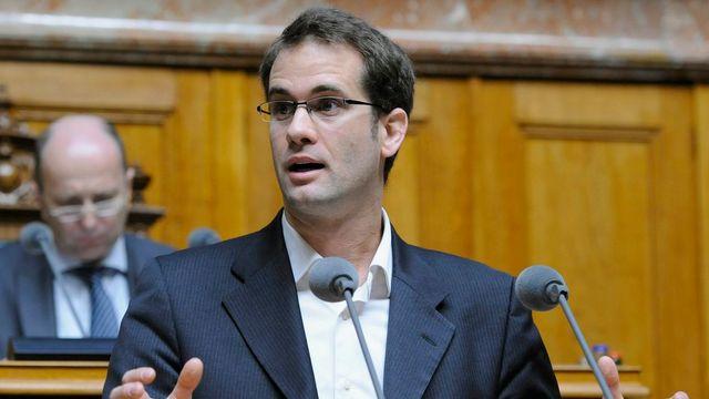 Antonio Hodgers, conseiller national (Verts/GE). [Lukas Lehmann - Keystone]