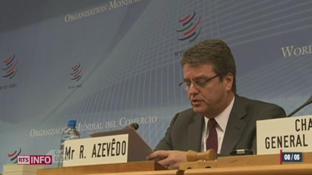 Le nouveau directeur général de l'Organisation mondiale du commerce sera très probablement Brésilien [RTS]