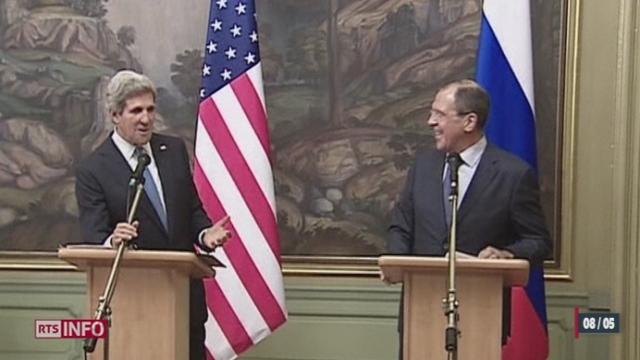 Syrie: la Russie et les Etats-Unis ont décidé de relancer le plan de paix adopté l'an dernier à Genève [RTS]