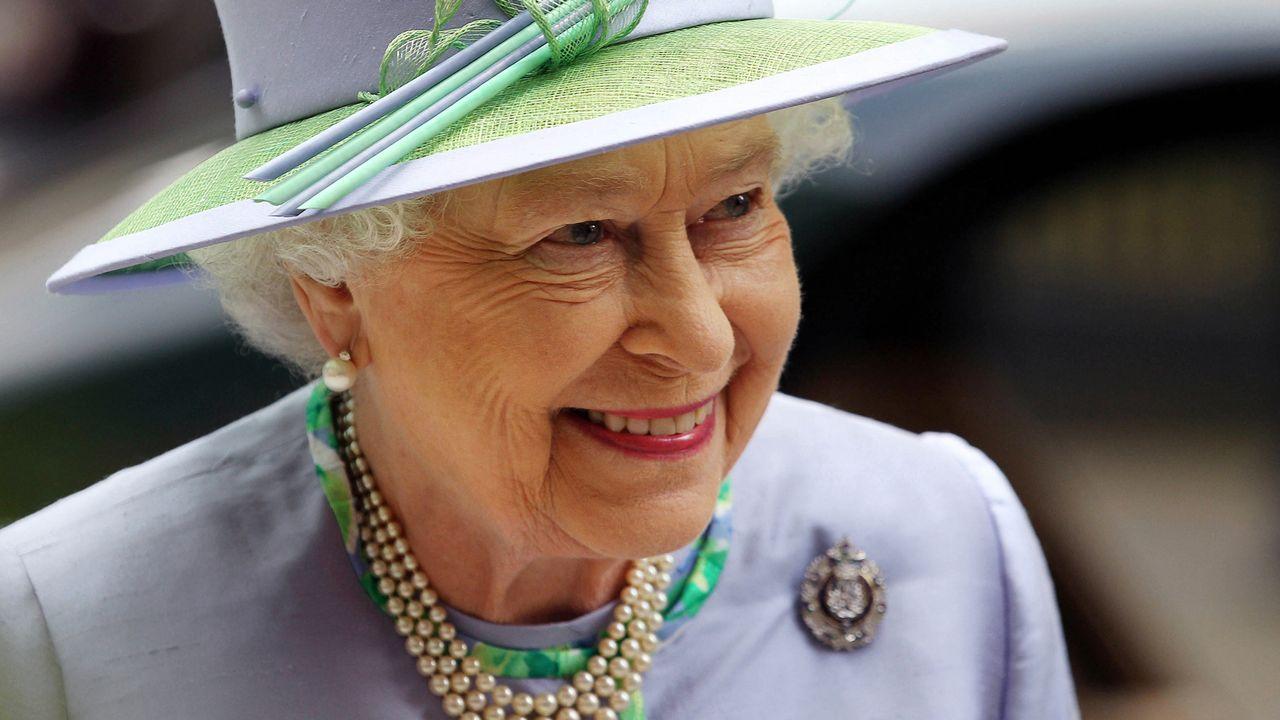 Elisabeth II d'Angleterre à Londres le 30 mai 2012. [Lewis Whyld - AFP]
