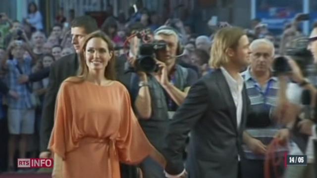 Pour éviter un probable cancer, Angelina Jolie a subi une double mastectomie [RTS]