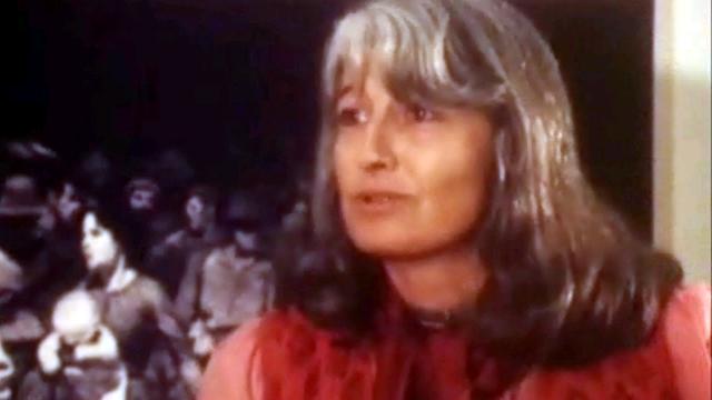Anne-Catherine Menétrey et la contestation [TSR 1982]