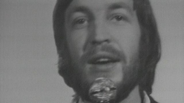 La chanson Retour d'Henri Dès, une belle 4e place à l'Eurovision 1970. [RTS]