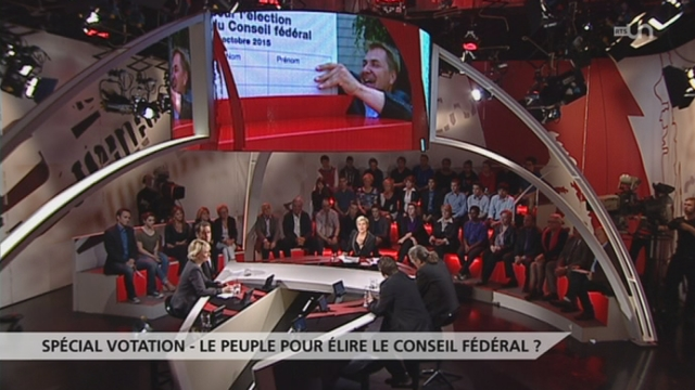Spécial votation - Le peuple pour élire le Conseil fédéral ? [RTS]
