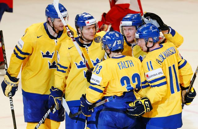 Les Suédois espèrent briller devant leur public du Globe Arena. [Arnd Wiegmann - Reuters]