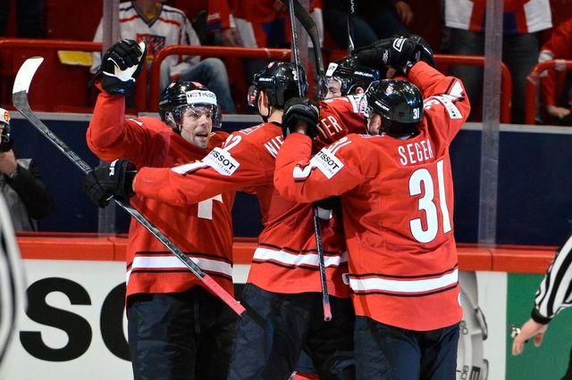Les Suisses ont signé leur neuvième victoire en neuf parties dans ce Mondial. [Claudio Bresciani - Keystone]