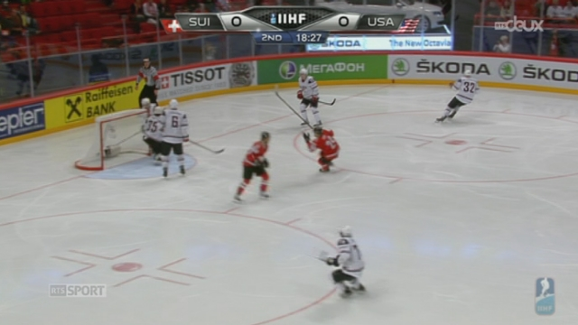 Mondial de Hockey: une Suisse historique se hisse en finale après sa victoire contre les Etats-Unis (3-0) + itw de Reto Suri et Julien Vauclair [RTS]