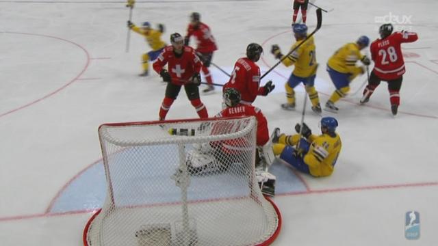 Finale, Suède - Suisse (1-1): égalisation de Gustafsson [RTS]