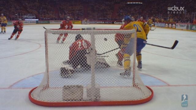 Finale, Suède - Suisse (4-1): le 4e but suédois brise les espoirs de victoire suisse [RTS]