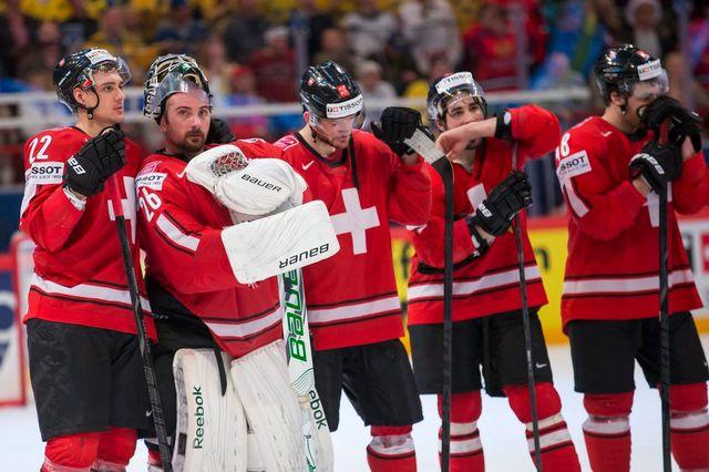 Malgré cette défaite, les Suisses peuvent être fiers de leur parcours. [Keystone]