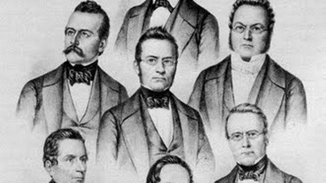 Le Premier Conseil Fédéral en 1848 [Domaine public. (Wikipedia)]
