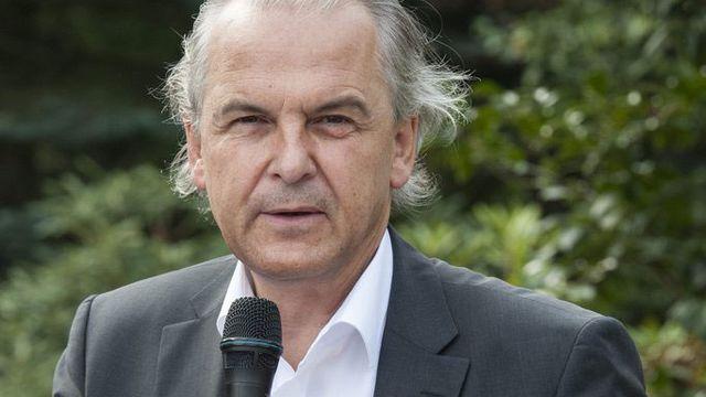 Rémy Pagani, maire de Genève. [Yannick Bailly]