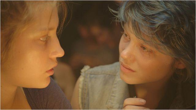 """Adèle Exarchopoulos et Léa Seydoux dans """"La vie d'Adèle"""". [wildbunch-distribution.com]"""