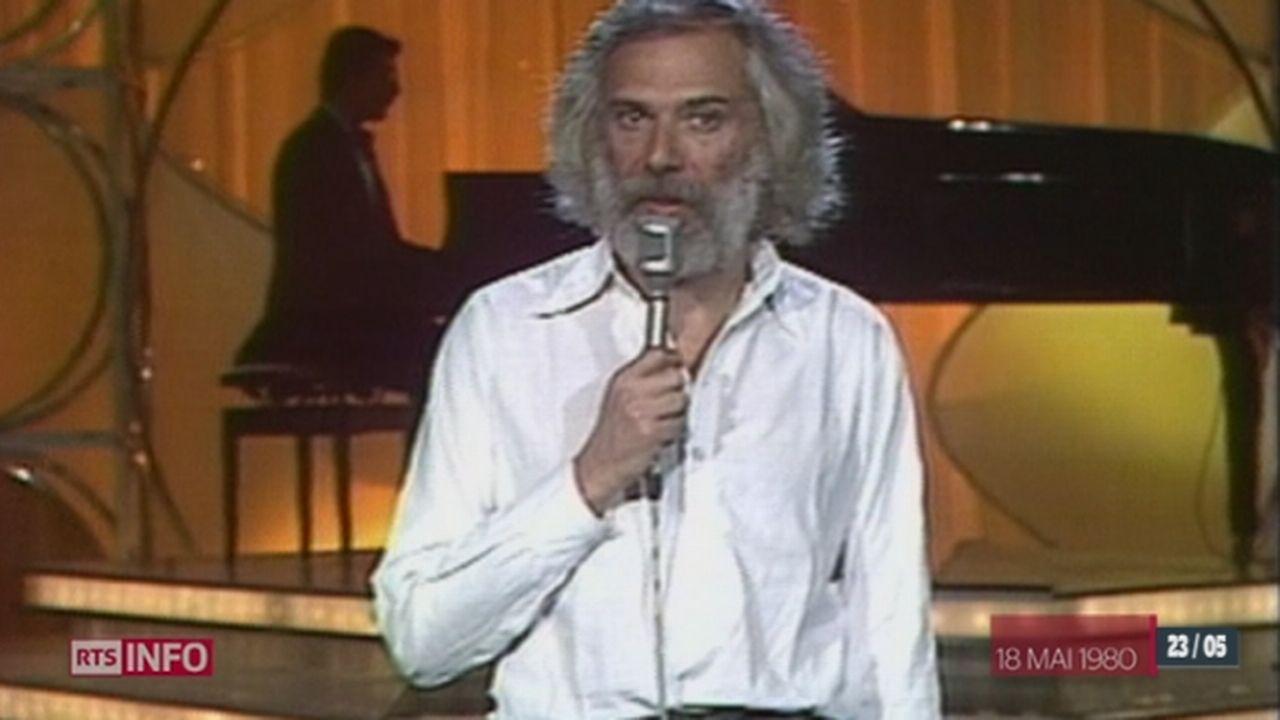Disparition de Georges Moustaki: le pâtre grec de la chanson française est décédé à l'âge de 79 ans [RTS]