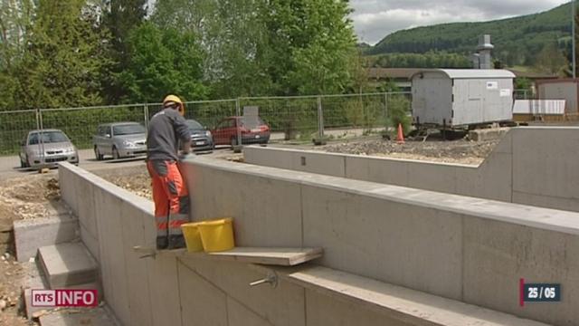 En Suisse romande le nombre de permis de construire augmente [RTS]