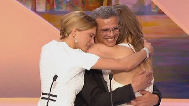Abdellatif Kechiche remporte la Palme d'or du 66e festival de Cannes [RTS]
